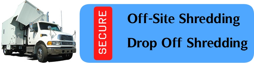 Off site shredding secure document shredding service for Document shredding drop off sites