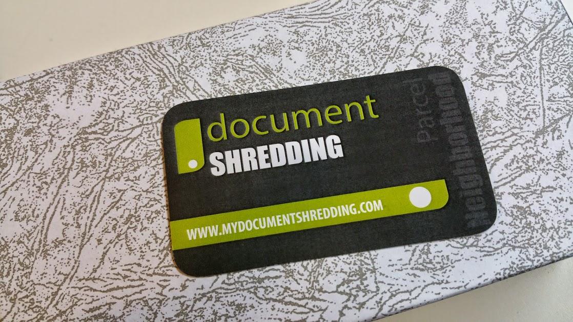 Contact Shredding Service Company