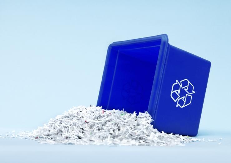 shredding-bucket
