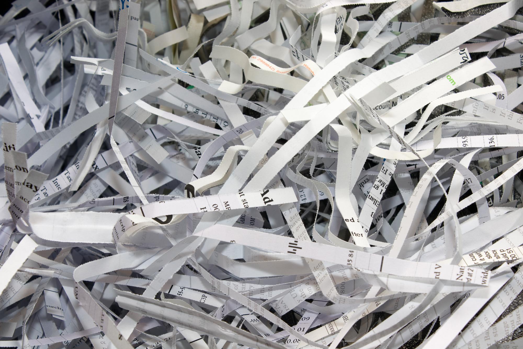 paper shredding service chelsea MA